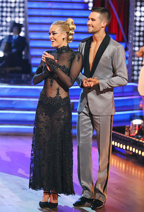 James Maslow and Peta Murgatroyd danced the Tango on week 10 of &#39;Dancing With The Stars&#39; on May 19, 2014. They received 29 out of 30 points from the judges. The pair also received 29 out of 30 points for their Freestyle. <span class=meta>(ABC&#47;Adam Taylor)</span>