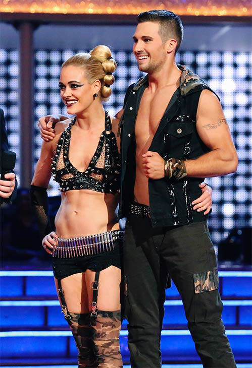 "<div class=""meta image-caption""><div class=""origin-logo origin-image ""><span></span></div><span class=""caption-text"">James Maslow and Peta Murgatroyd danced a Freestyle routine on week 10 of 'Dancing With The Stars' on May 19, 2014. They received 29 out of 30 points from the judges. The pair also received 29 out of 30 points for their Tango. (ABC/Adam Taylor)</span></div>"