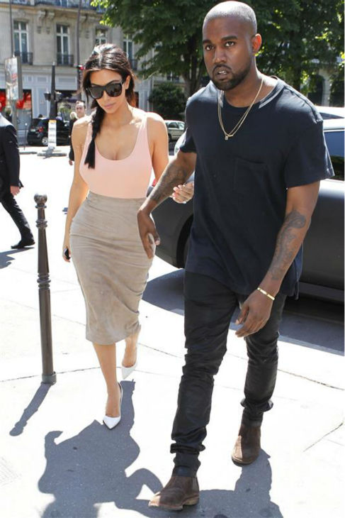 "<div class=""meta ""><span class=""caption-text "">Kim Kardashian and Kanye West go shopping in Paris on May 19, 2014. (Beretta / Sims / REX / Startraksphoto.com)</span></div>"
