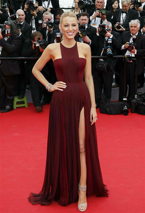 Blake Lively appears at the premiere of &#39;Grace of Monaco&#39; during 67th Cannes Film Festival on May 14, 2014. <span class=meta>(GRAHAM WHITBY BOOT&#47;Startraksphoto.com)</span>