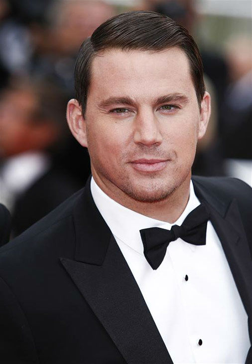 "<div class=""meta ""><span class=""caption-text "">Channing Tatum appears at the premiere of 'The Foxcatcher' during the 67th Cannes Film Festival on May 19, 2014.  (GRAHAM WHITBY BOOT/startraksphoto.com)</span></div>"