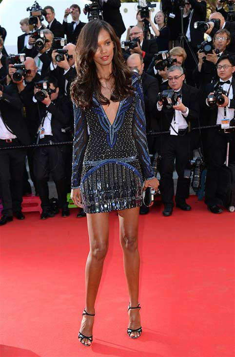 "<div class=""meta ""><span class=""caption-text "">Lyia Kebede appears at the premiere of 'Mr. Turner' during 67th Cannes Film Festival on May 15, 2014. (Nicolas Briquet/ABACAstartraksphoto.com)</span></div>"