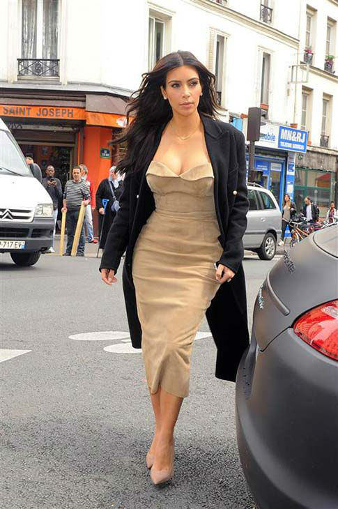 Kim Kardashian appears in Paris on May 21, 2014. <span class=meta>(Beretta&#47;Sims&#47;REX&#47;Startraksphoto.com)</span>