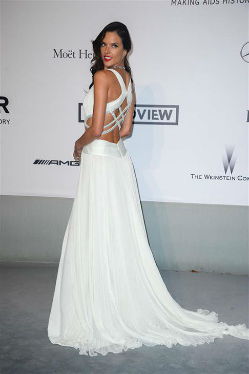 Alessandra Ambrosio arrives at the amfAR Cinema Against AIDS benefit during the 67th Cannes International Film Festival in southern France on Thursday, May 22, 2014. <span class=meta>(Lionel Hahn&#47;Abaca&#47;startraksphoto.com)</span>