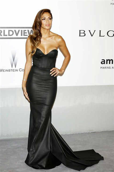 Nicole Scherzinger arrives at the amfAR Cinema Against AIDS benefit during the 67th Cannes International Film Festival in southern France on Thursday, May 22, 2014. <span class=meta>(Future Image&#47;startraksphoto.com)</span>