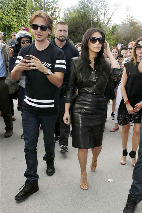 Jonathan Cheban and Kim Kardashian appear at the Eiffel Tower in Paris on May 22, 2014. <span class=meta>(Beretta&#47;Sims&#47;REX&#47;Startraksphoto.com)</span>