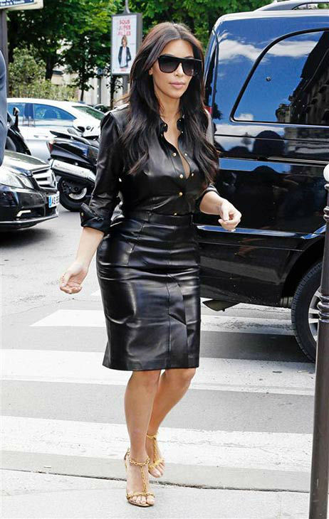 Kim Kardashian appears in Paris on May 22, 2014. <span class=meta>(Beretta&#47;Sims&#47;REX&#47;startraksphoto.com)</span>