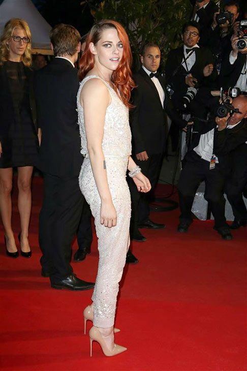 Kristen Stewart appears at the &#39;Clouds of Sils Maria&#39; screening at the 67th Cannes Film Festival on May 23, 2014. <span class=meta>(Camilla D&#39;&#39;Ettorre&#47;startraksphoto.com)</span>