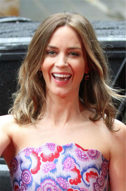 Emily Blunt appears at the premiere of &#39;Edge of Tomorrow&#39; in London on May 27, 2014. <span class=meta>(Richard Young &#47; REX &#47; Startraksphoto.com)</span>