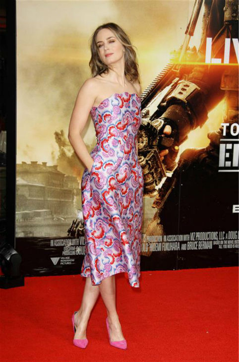 "<div class=""meta ""><span class=""caption-text "">Emily Blunt appears at the premiere of 'Edge of Tomorrow' in London on May 27, 2014. (Abaca / Startraksphoto.com)</span></div>"