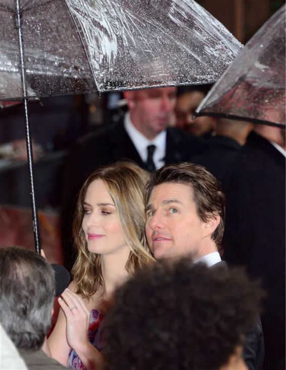 "<div class=""meta image-caption""><div class=""origin-logo origin-image ""><span></span></div><span class=""caption-text"">Emily Blunt and Tom Cruise appear at the premiere of 'Edge of Tomorrow' in London on May 27, 2014. (Nils Jorgensen / Startraksphoto.com)</span></div>"