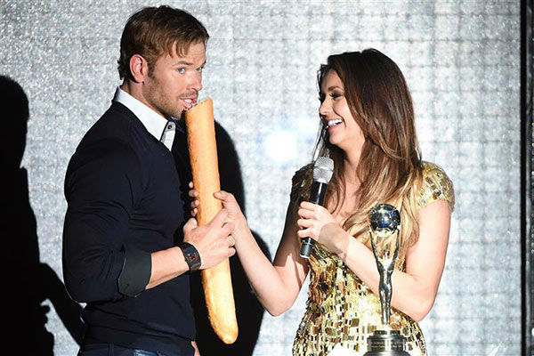 "<div class=""meta ""><span class=""caption-text "">Kellan Lutz and Nina Dobrev appear at the 2014  World Music Awards in Monte Carlo on May 27, 2014. (Nicolas Gouhier/Abaca/startraksphoto.com)</span></div>"