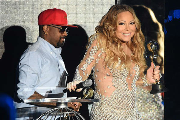 Mariah Carey appears at the 2014  World Music Awards in Monte Carlo on May 27, 2014. <span class=meta>(Nicolas Gouhier&#47;Abaca&#47;startraksphoto.com)</span>