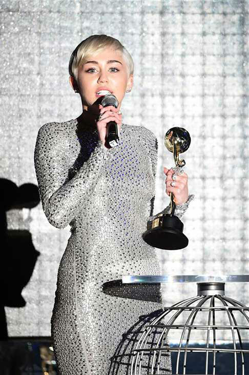 Miley Cyrus appears at the 2014  World Music Awards in Monte Carlo on May 27, 2014. <span class=meta>(Nicolas Gouhier&#47;Abaca&#47;startraksphoto.com)</span>