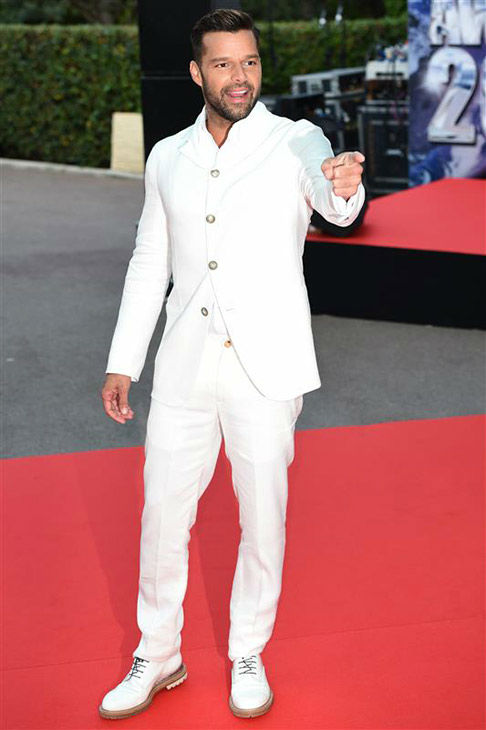 Ricky Martin appears at the 2014  World Music Awards in Monte Carlo on May 27, 2014. <span class=meta>(Nicolas Gouhier&#47;Abaca&#47;startraksphoto.com)</span>