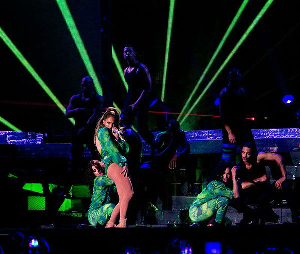 Jennifer Lopez performs at a free concert at Orchard Beach in Pelham Bay Park in the Bronx, New York on June 4, 2014. <span class=meta>(Kristina Bumphrey&#47;Startraksphoto.com)</span>