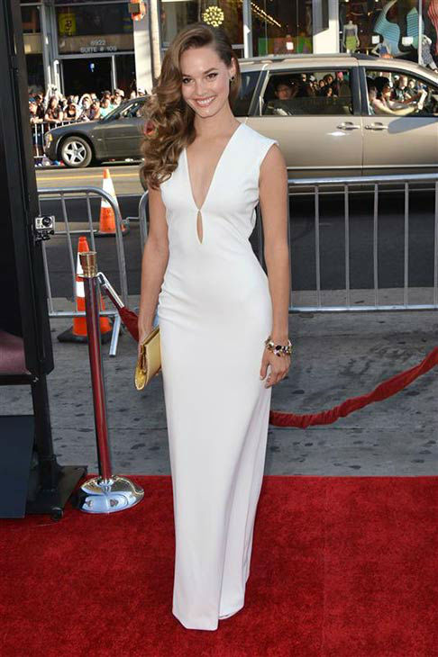 Bailey Noble appears at the &#39;True Blood&#39; season 7 premiere at the TCL Chinese Theater in Hollywood, California on June 17, 2014. <span class=meta>(Tony DiMaio&#47;startraksphoto.com)</span>