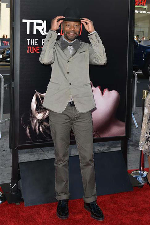 Nelsan Ellis appears at the &#39;True Blood&#39; season 7 premiere at the TCL Chinese Theater in Hollywood, California on June 17, 2014. <span class=meta>(Tony DiMaio&#47;startraksphoto.com)</span>