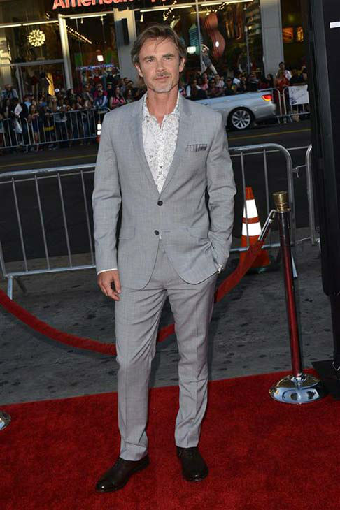 Sam Trammell appears at the &#39;True Blood&#39; season 7 premiere at the TCL Chinese Theater in Hollywood, California on June 17, 2014. <span class=meta>(Tony DiMaio&#47;startraksphoto.com)</span>
