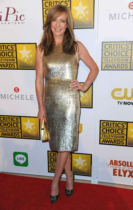 Allison Janney arrives at the Critics&#39; Choice Television Awards at the Beverly Hilton Hotel on Thursday, June 19, 2014, in Beverly Hills, Calif. <span class=meta>(Richard Shotwell&#47;Invision&#47;AP)</span>