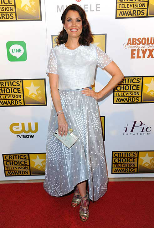 "<div class=""meta image-caption""><div class=""origin-logo origin-image ""><span></span></div><span class=""caption-text"">Bellamy Young arrives at the Critics' Choice Television Awards at the Beverly Hilton Hotel on Thursday, June 19, 2014, in Beverly Hills, Calif. (Richard Shotwell/Invision/AP)</span></div>"
