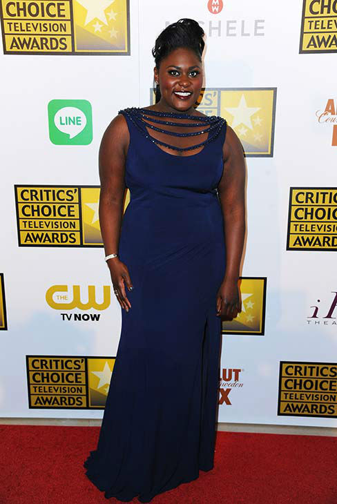 Danielle Brooks arrives at the Critics&#39; Choice Television Awards at the Beverly Hilton Hotel on Thursday, June 19, 2014, in Beverly Hills, Calif.  <span class=meta>(Richard Shotwell&#47;Invision&#47;AP)</span>