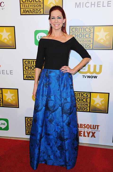 Carrie Preston arrives at the Critics&#39; Choice Television Awards at the Beverly Hilton Hotel on Thursday, June 19, 2014, in Beverly Hills, Calif. <span class=meta>(Richard Shotwell&#47;Invision&#47;AP)</span>