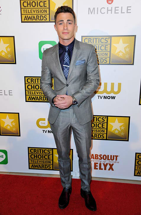 Colton Haynes arrives at the Critics&#39; Choice Television Awards at the Beverly Hilton Hotel on Thursday, June 19, 2014, in Beverly Hills, Calif. <span class=meta>(Richard Shotwell&#47;Invision&#47;AP)</span>