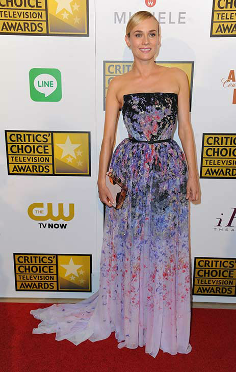 Diane Kruger arrives at the Critics&#39; Choice Television Awards at the Beverly Hilton Hotel on Thursday, June 19, 2014, in Beverly Hills, Calif.  <span class=meta>(Richard Shotwell&#47;Invision&#47;AP)</span>