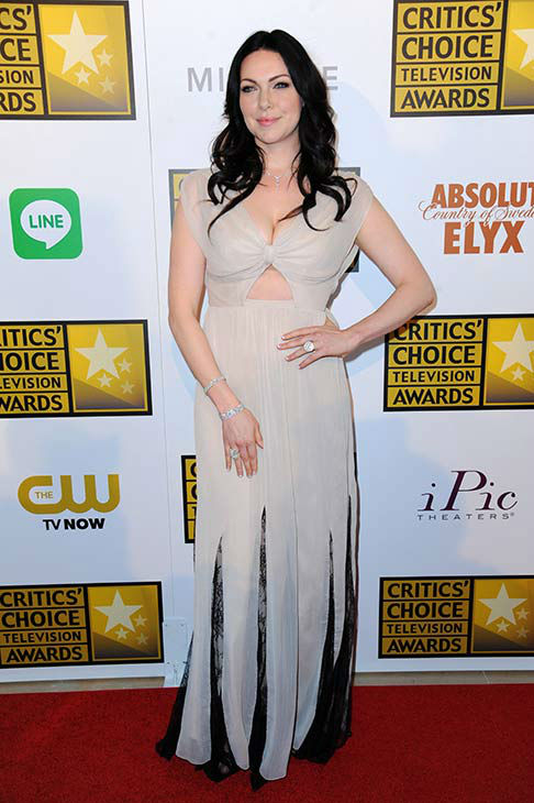 "<div class=""meta ""><span class=""caption-text "">Laura Prepon arrives at the Critics' Choice Television Awards at the Beverly Hilton Hotel on Thursday, June 19, 2014, in Beverly Hills, Calif. (Richard Shotwell/Invision/AP)</span></div>"