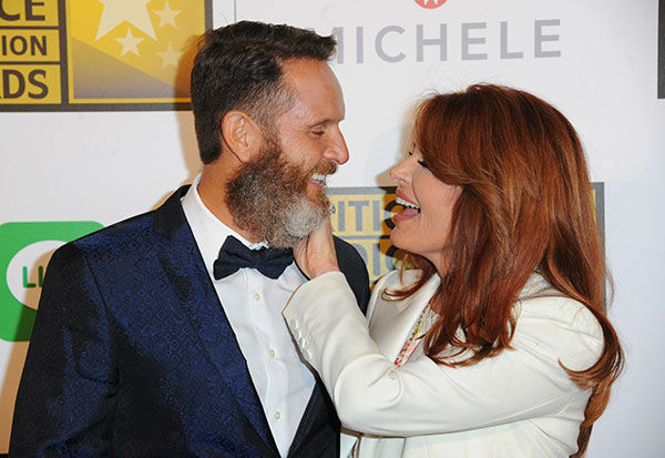Mark Burnett, left, and Roma Downey arrive at the Critics&#39; Choice Television Awards at the Beverly Hilton Hotel on Thursday, June 19, 2014, in Beverly Hills, Calif.  <span class=meta>(Richard Shotwell&#47;Invision&#47;AP)</span>