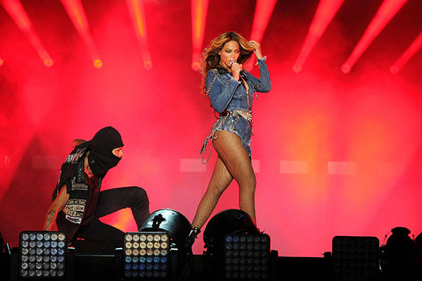 "<div class=""meta image-caption""><div class=""origin-logo origin-image ""><span></span></div><span class=""caption-text"">Beyonce performs on the opening night of the On The Run Tour at Sun Life Stadium on Wednesday, June 25, 2014, in Miami, Florida. (Jeff Daly/Invision for Parkwood Entertainment/AP Images)</span></div>"