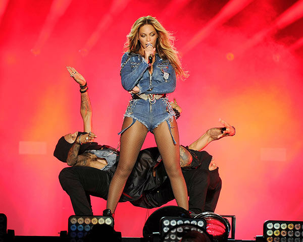Beyonce performs on the opening night of the On The Run Tour at Sun Life Stadium on Wednesday, June 25, 2014, in Miami, Florida. <span class=meta>(Jeff Daly&#47;Invision for Parkwood Entertainment&#47;AP Images)</span>