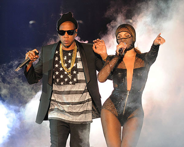 "<div class=""meta ""><span class=""caption-text "">Beyonce and JAY Z perform on the opening night of the On The Run Tour at Sun Life Stadium on Wednesday, June 25, 2014, in Miami, Florida.  (Jeff Daly/Invision for Parkwood Entertainment/AP Images)</span></div>"