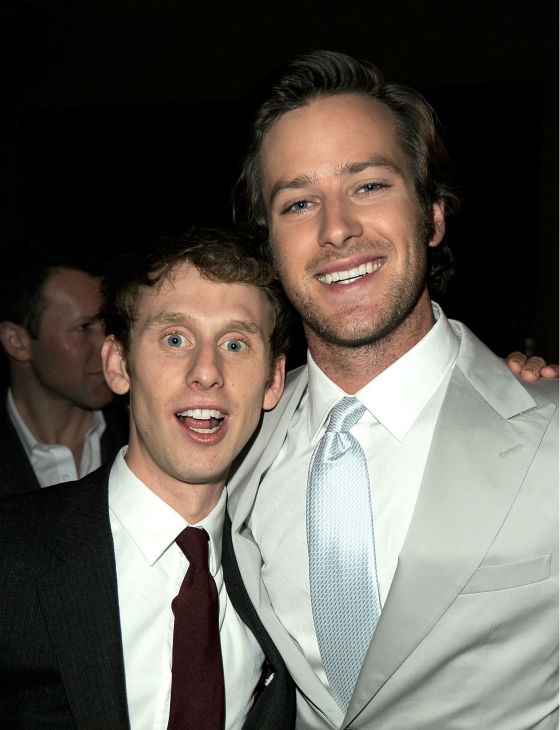 Armie Hammer attends the after party for the premiere of 'Mirror Mirror' at the Roosevelt Hotel on March 17, 2012 in Hollywood, California. Hammer plays Prince Charming.