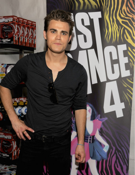 'Vampire Diaries' star Paul Wesley appears at...