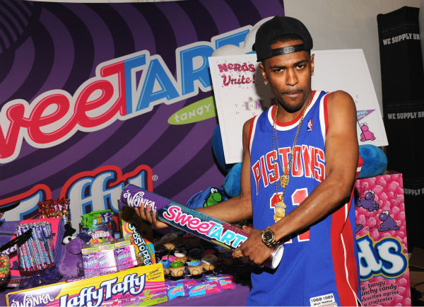 Rapper Big Sean appears at Backstage Creations'...