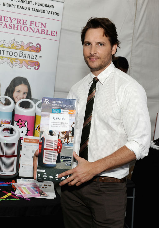 'Twilight' star Peter Facinelli appears at Backst