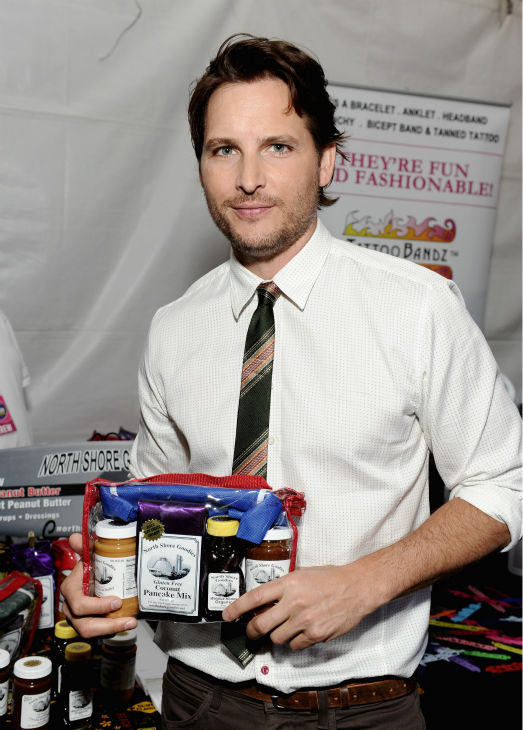 'Twilight' star Peter Facinelli appears at Backstage Creations' Celebrity Retreat at the 2012 Teen Choice at the Gibson Amphitheatre in Universal City, California, near Los Angeles on July 22, 2012.