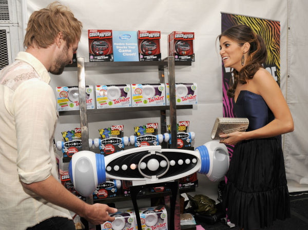 &#39;Twilight&#39; star Nikki Reed and husband and &#39;American Idol&#39; alum Paul McDonald appear at Backstage Creations&#39; Celebrity Retreat at the 2012 Teen Choice at the Gibson Amphitheatre in Universal City, California, near Los Angeles on July 22, 2012.  <span class=meta>(Angela Weiss &#47; WireImage)</span>