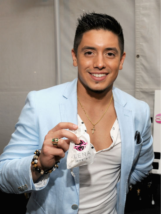 &#39;American Idol&#39; alum Stefano Langone appears at Backstage Creations&#39; Celebrity Retreat at the 2012 Teen Choice Awards at the Gibson Amphitheatre in Universal City, California, near Los Angeles on July 22, 2012.  <span class=meta>(Angela Weiss &#47; WireImage)</span>