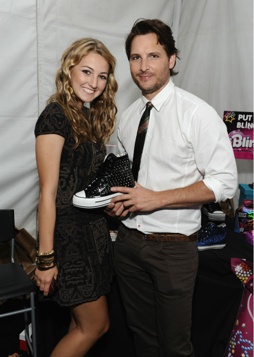'Twilight' star Peter Facinelli and a guest...