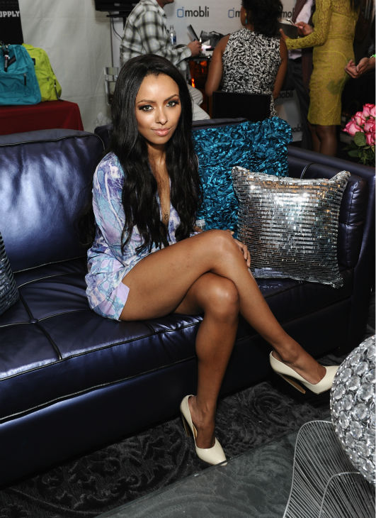 &#39;Vampire Diaries&#39; star Kat Graham appears at Backstage Creations&#39; Celebrity Retreat at the 2012 Teen Choice at the Gibson Amphitheatre in Universal City, California, near Los Angeles on July 22, 2012. <span class=meta>(Angela Weiss &#47; WireImage)</span>
