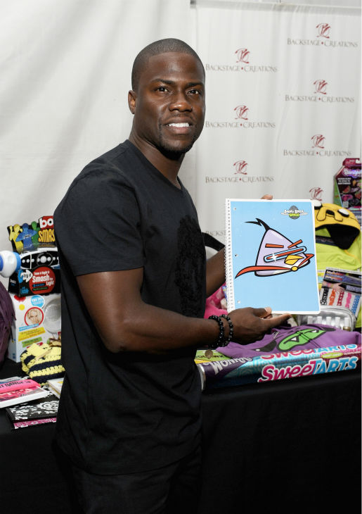 Kevin Hart appears at Backstage Creations'...