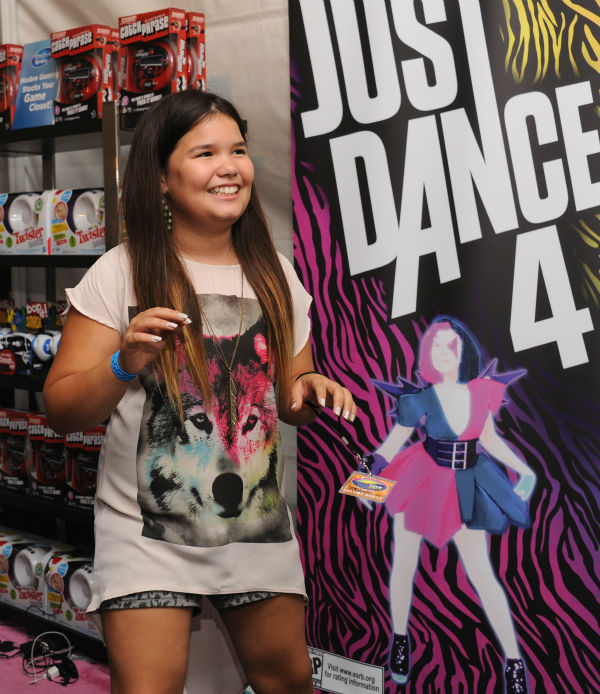 Madison De La Garza, sister of Demi Lovato and former 'Desperate Housewives' actress, appears at Backstage Creations' Celebrity