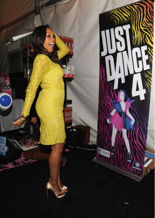 Tia Mowry appears at Backstage Creations' Celebrity Retreat at the 2012 Teen Choice at the Gibson Amphitheatre in Univ