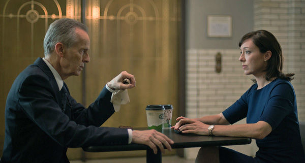 David Clennon and Molly Parker appear in a scene from season 2 of Netflix&#39;s &#39;House of Cards.&#39; <span class=meta>(Nathaniel Bell for Netflix)</span>