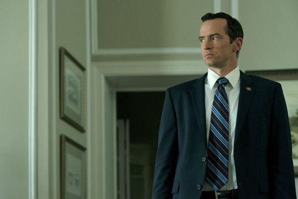 Nathan Darrow appears in a scene from season 2 of Netflix&#39;s &#39;House of Cards.&#39; <span class=meta>(Nathaniel Bell for Netflix)</span>