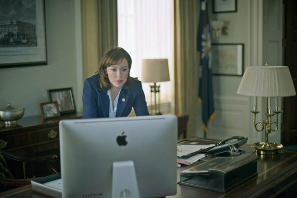 Molly Parker appears in a scene from season 2 of Netflix&#39;s &#39;House of Cards.&#39;  <span class=meta>(Nathaniel Bell for Netflix)</span>