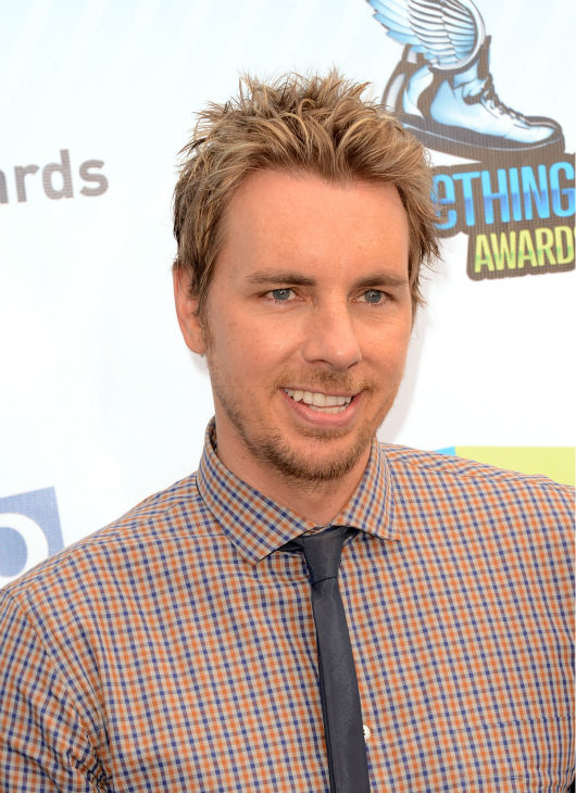 Dax Shepard, who stars on the NBC show &#39;Parenthood&#39; and who is promoting his new movie &#39;Hit and Run,&#39; arrives at the 2012 Do Something Awards at Barker Hangar on August 19, 2012 in Santa Monica, California. <span class=meta>(Jason Merritt &#47; Getty Images)</span>
